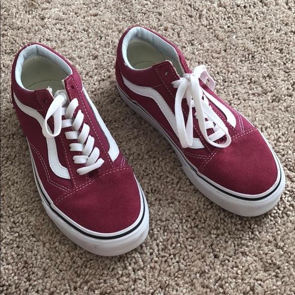 Vans Shoes | Pinkish Colored Vans